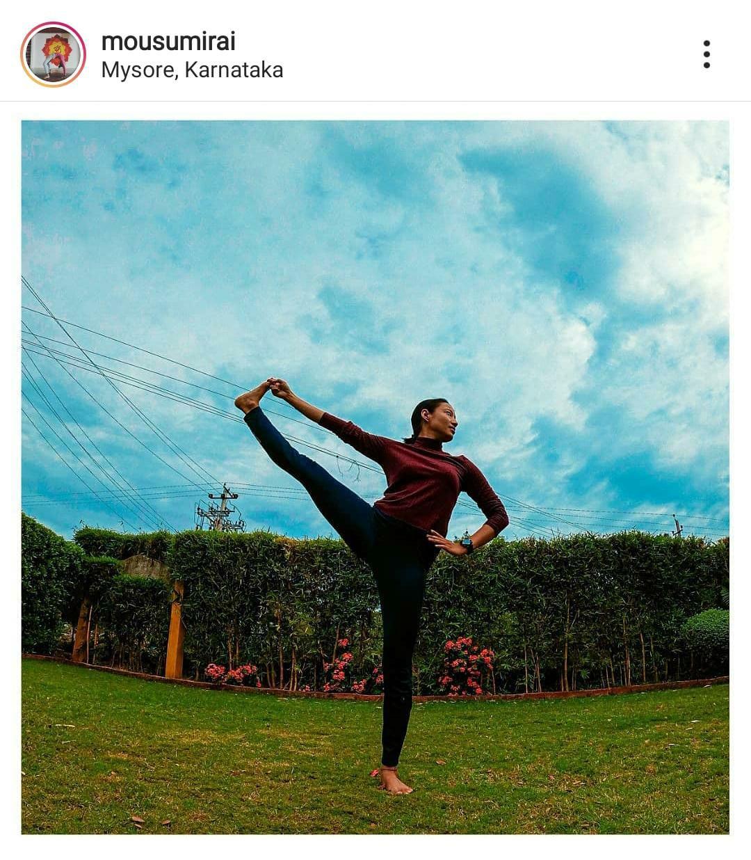 MOUSUMI RAI Ashtanga Yoga Teacher South Delhi by Buddha Yogshala & Home Yoga Classes (HYC)